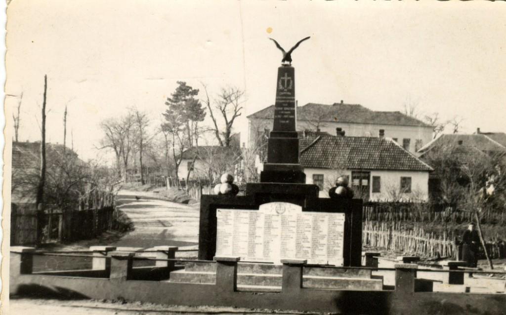 Споменик изгинулим борцима од 1912-1918